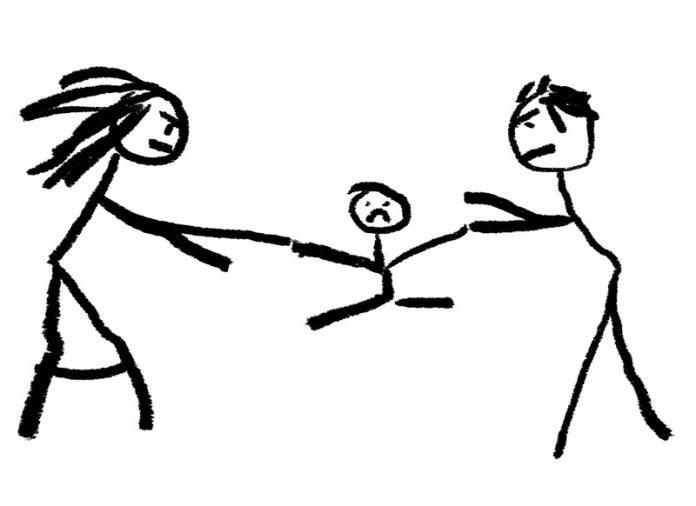 Gedoe om kind bij scheiding
