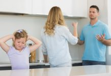 strijd tussen ouders