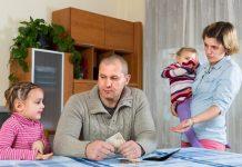 gezin aan zet