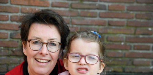 Leontien en haar dochtertje
