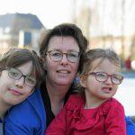 Leontien met zoon en dochtertje