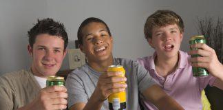 drinkende pubers