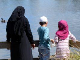 vluchteling gezin